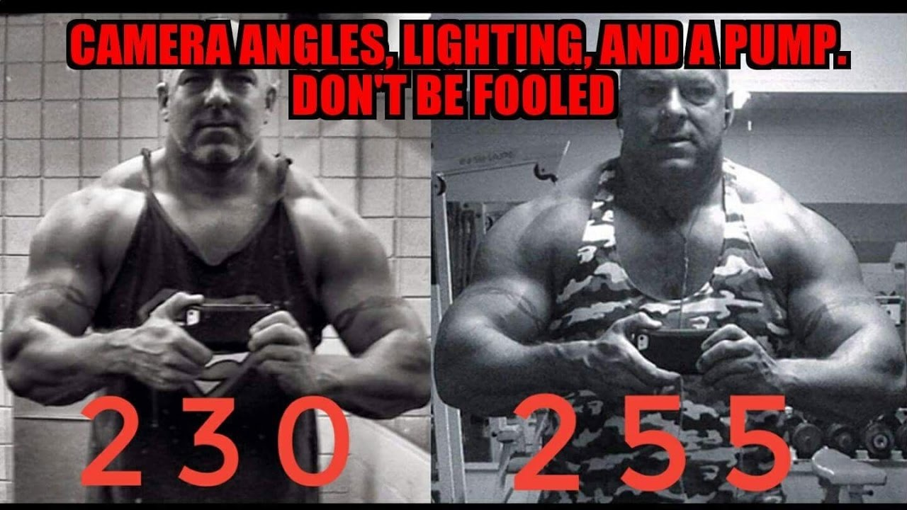 Camera Angles, Lighting, and a Pump --- Don't Be Fooled
