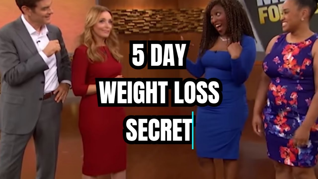 Dr Oz Has Discovered The Magic 5 Day Weight Loss Secret - Intermittent Fasting