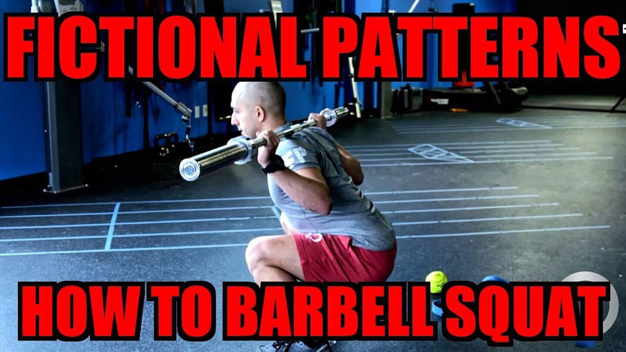 Fictional Patterns- How to Barbell Squat