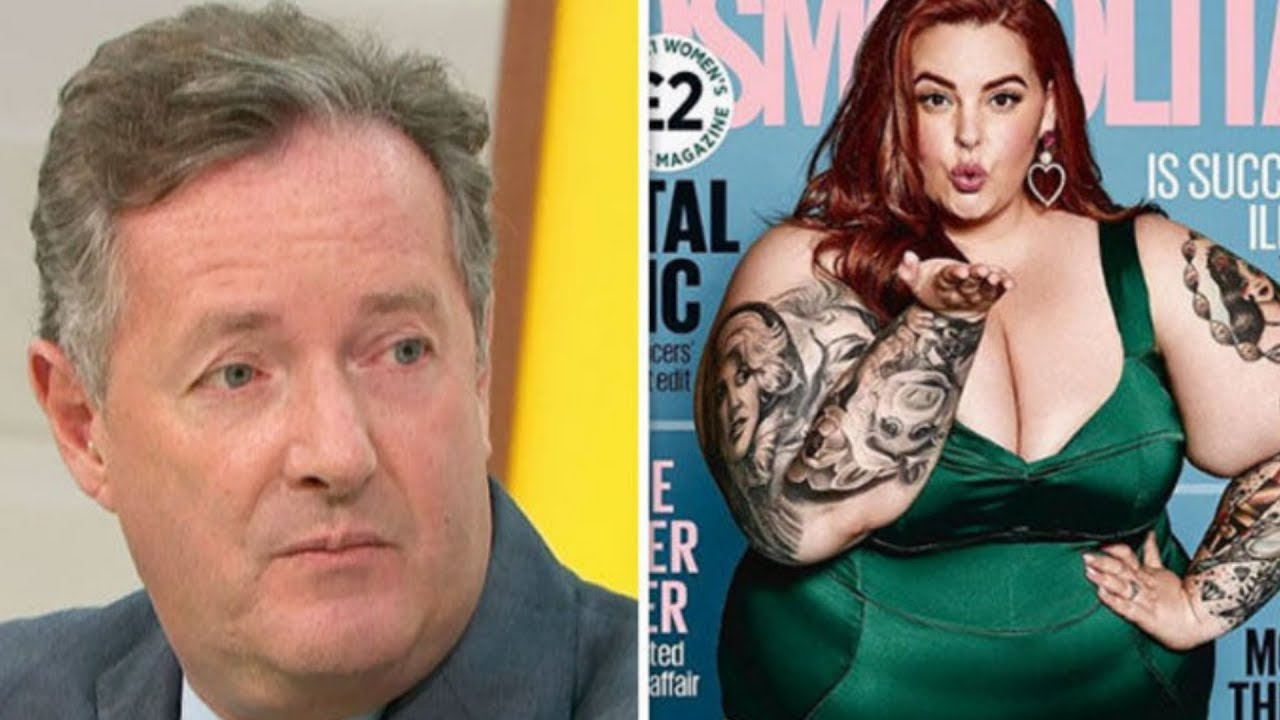 Piers Morgan States Facts About Tess Holliday's Cosmo UK Cover on GMB