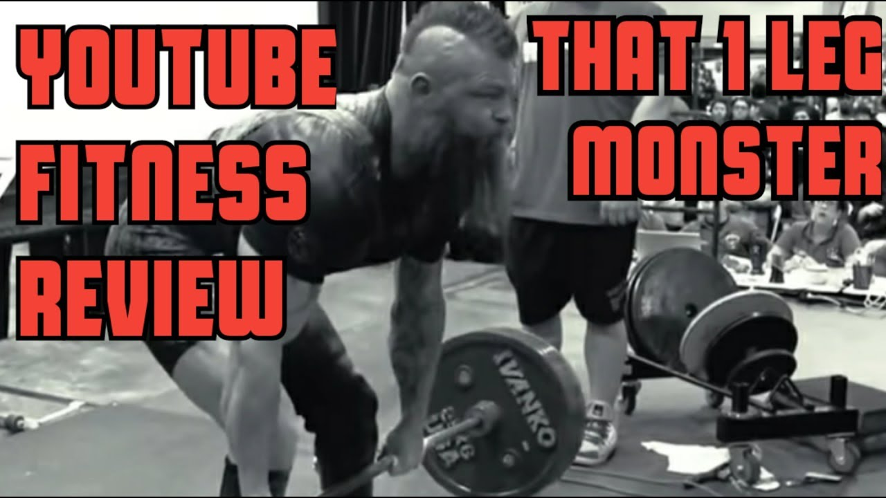 YouTube Fitness Review- That 1 Leg Monster - KC Mitchell