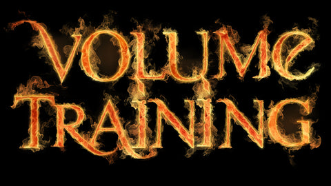 E.D.D.F. VOLUME TRAINING - THE WHOLE DAMN PROGRAM