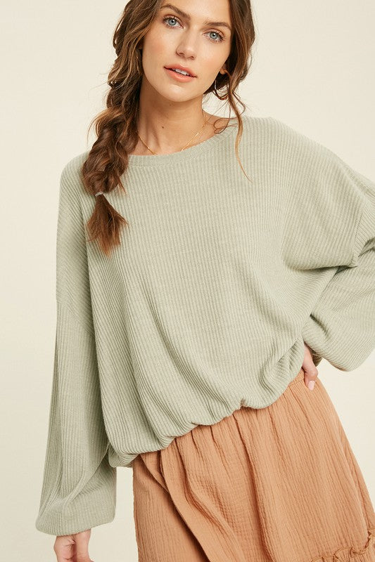 Seeking Adventure Top: light olive