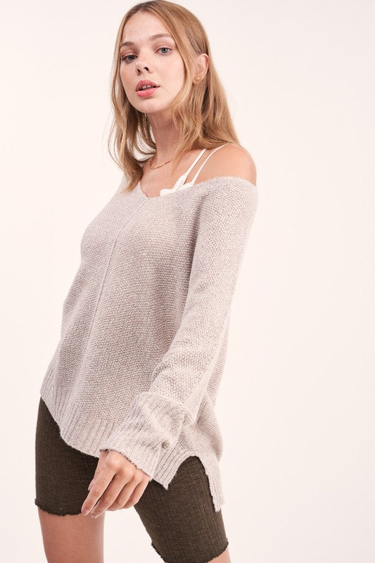 Wonderland Top : Taupe