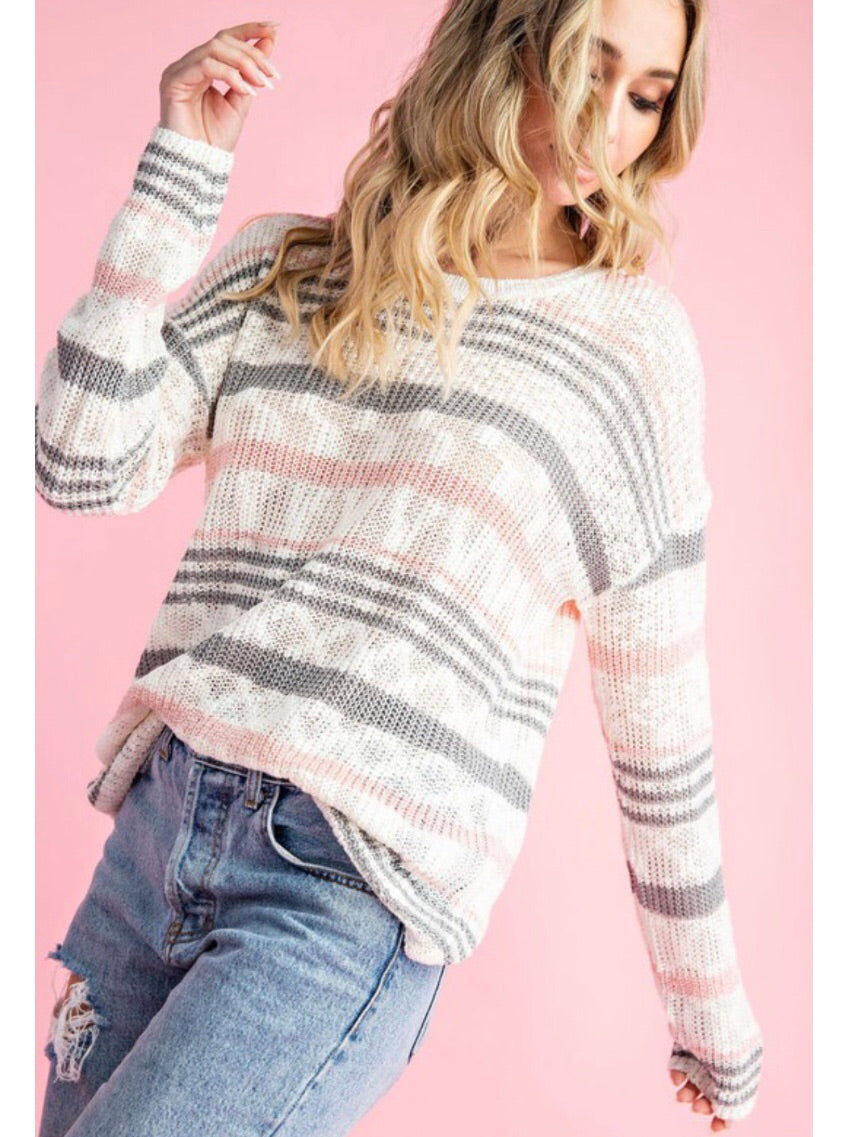 Young & Free Knit Sweater