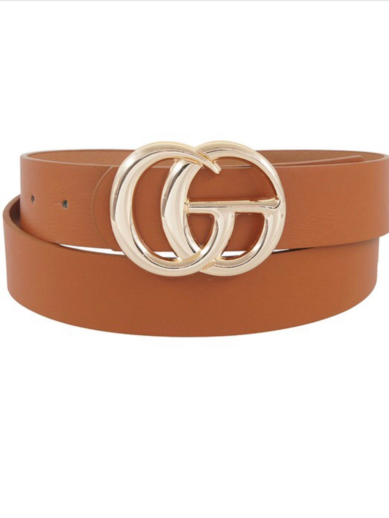 Runway Double Buckle Belt