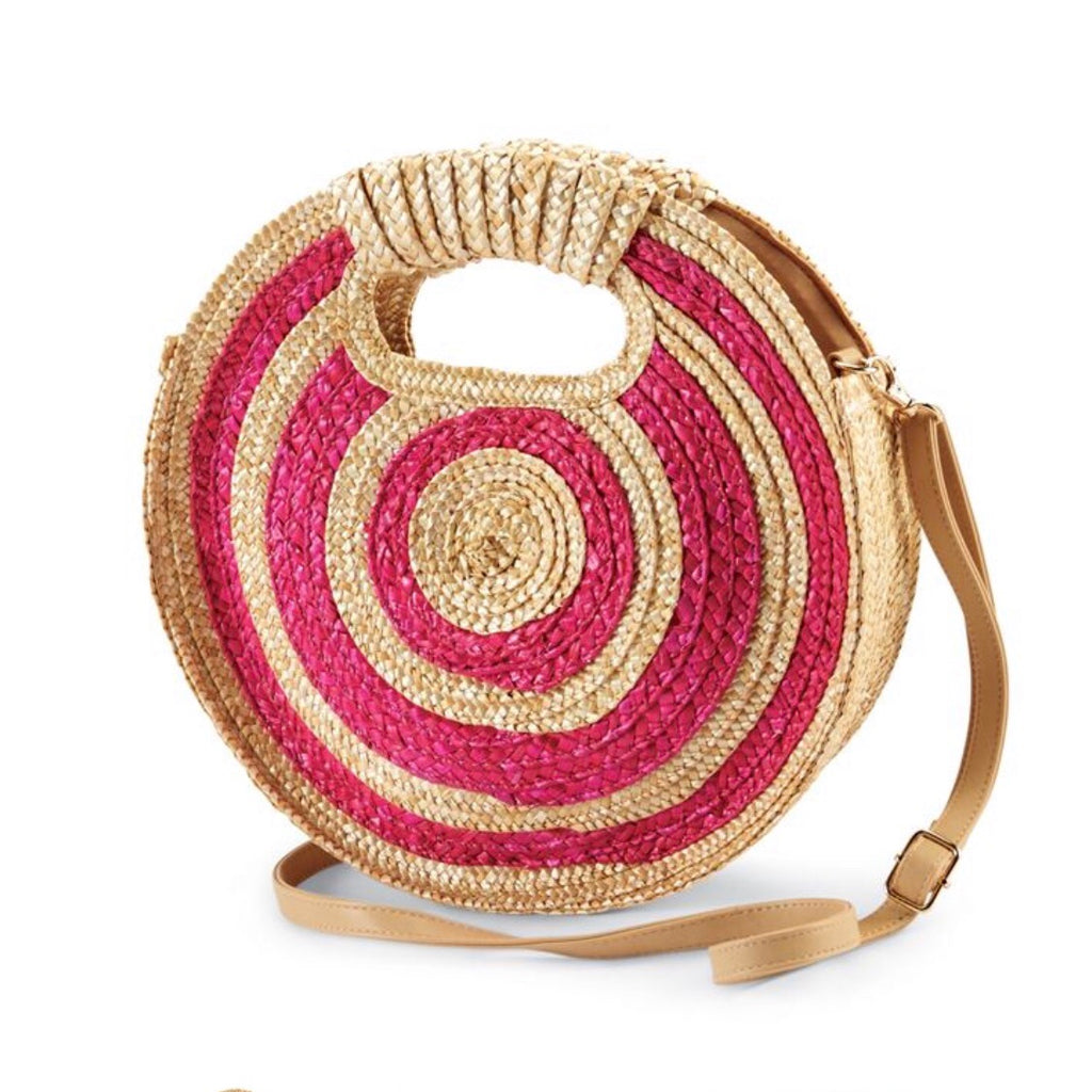 Around Town Woven Clutch