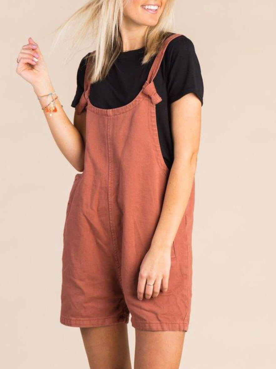 The Sienna Overall Shorts