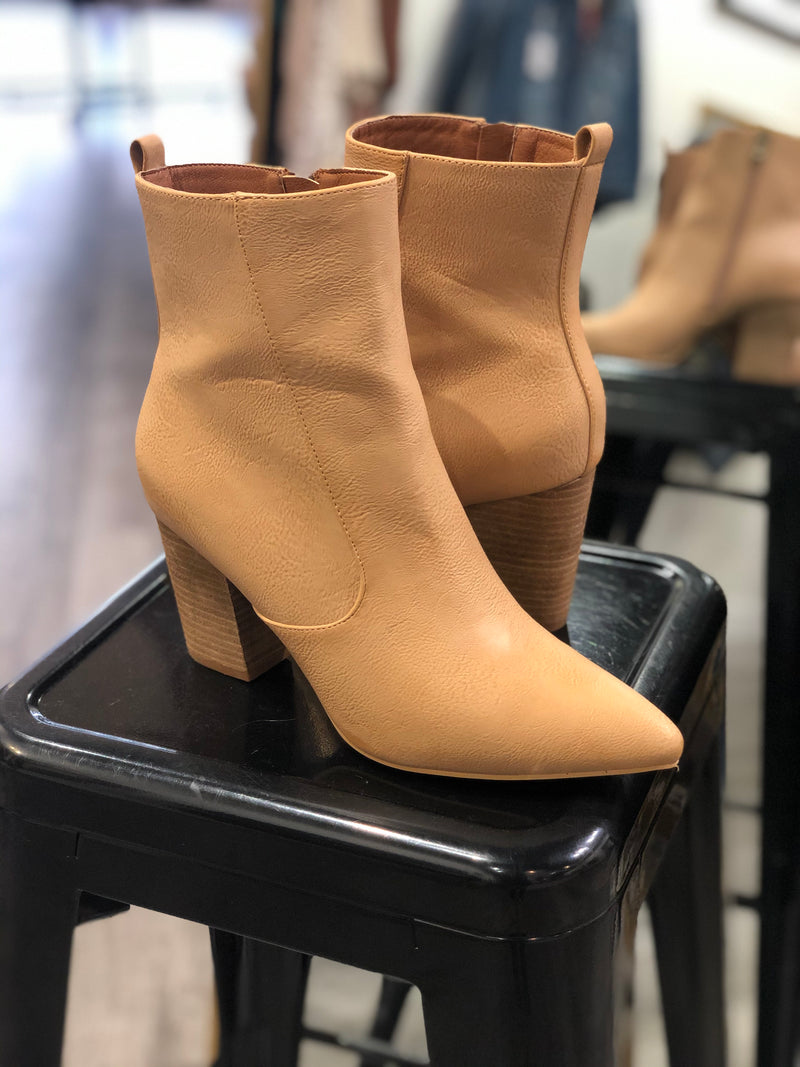 Feel Good Tall Bootie : Toffee