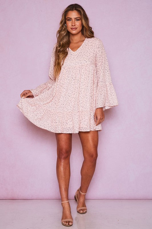 Our Moment Ruffle Dress
