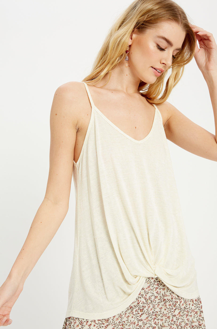 Time For Transition Tank: Cream