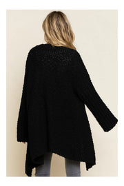 Waterfall Popcorn Cardigan Sweater