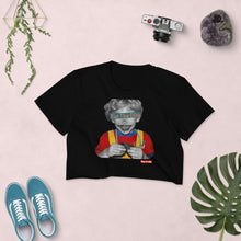 Load image into Gallery viewer, Eat The Elite Kid Women's Crop Top