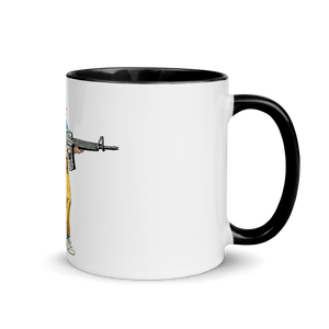 "Pew Is Life ""Kid Again"" Mug with Color Inside"