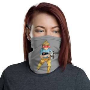 "Pew Is Life ""Kid Again"" Neck Gaiter"
