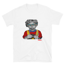 "Load image into Gallery viewer, "" Eat the Elite Kid"" Short-Sleeve Unisex T-Shirt"