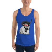 "Load image into Gallery viewer, PEW IS LIFE ""OG cow poke"" Unisex Tank Top"