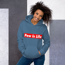 "Load image into Gallery viewer, ""Pew Is Life"" Hoodie"