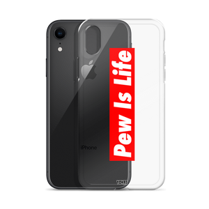 Pew Is Life iPhone Case