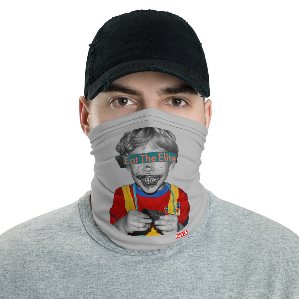 Eat The Elite Kid Neck Gaiter
