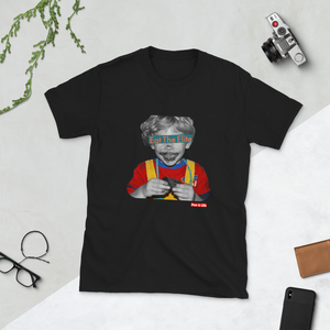 """ Eat the Elite Kid"" Short-Sleeve Unisex T-Shirt"