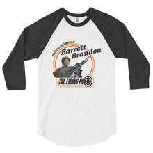 "Load image into Gallery viewer, ""Barrett Brandon"" 3/4 sleeve shirt"