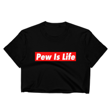Load image into Gallery viewer, Pew is Life Women's Crop Top