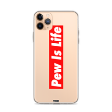 Load image into Gallery viewer, Pew Is Life iPhone Case