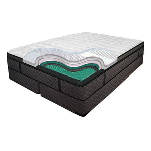 Luxura Premier Mid-Fill Euro Top Waterbed by Innomax