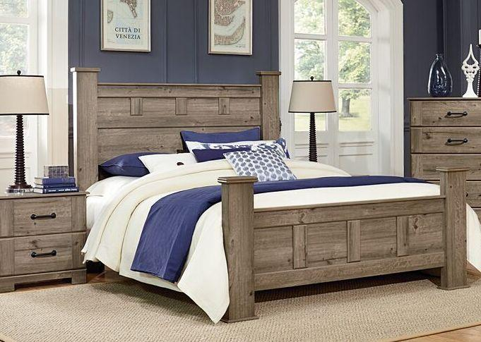 Meadowlark Post Headboard by Perdue