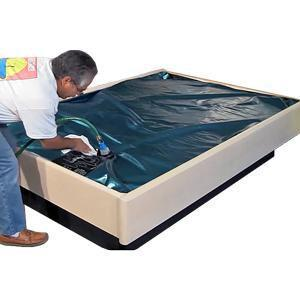Sterling Sleep Free Flow Hardside Waterbed Mattress