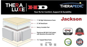 Theraluxe HD Jackson Firm by Therapedic