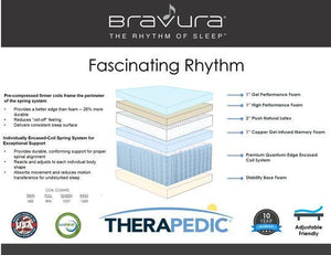 Fascinating Rhythm Hybrid by Therapedic