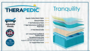 Tranquility All-Foam by Therapedic