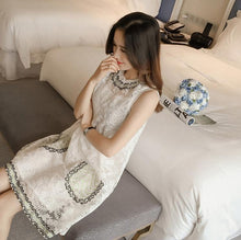 Load image into Gallery viewer, Lovely White Lace Short Dress, Summer Dress, Fashion Girl Dress