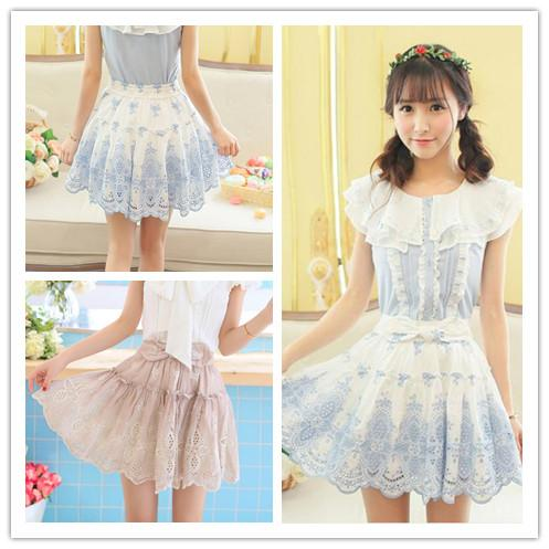 3 Colors Sweet Bowknot Fluffy Pantskirt SP152932