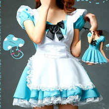 Load image into Gallery viewer, Blue Cutie Maid Dress SP141198