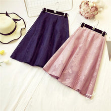Load image into Gallery viewer, 4 Colors Elegant Leafy Midi Skirt SP1711290