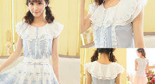 Load image into Gallery viewer, 3 Colors Lace Sleeveless Shirt SP152933