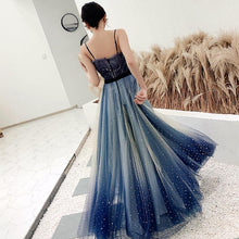 Load image into Gallery viewer, Fairy Gradient Galaxy Tulle Maxi Dress SP14468