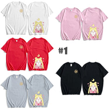 Load image into Gallery viewer, Fashion Sailormoon Sisters Tee Shirt SP13773