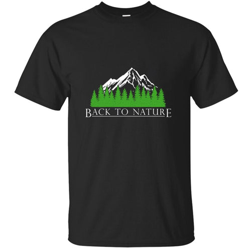 New Letter Basic Back To Nature T Shirt Fashion Plus Size 3xl 4xl 5xl Round Collar Men's Tshirt Streetwear Cotton Hip Hop