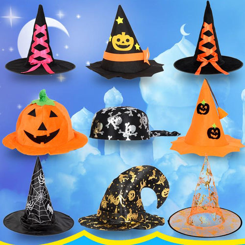 Halloween Party Witches Pumpkin Hat SP1710600