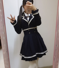 Load image into Gallery viewer, Lolita Preppy style Military Outfits SP1710840
