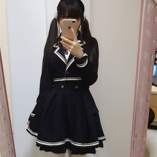 Lolita Preppy style Military Outfits SP1710840