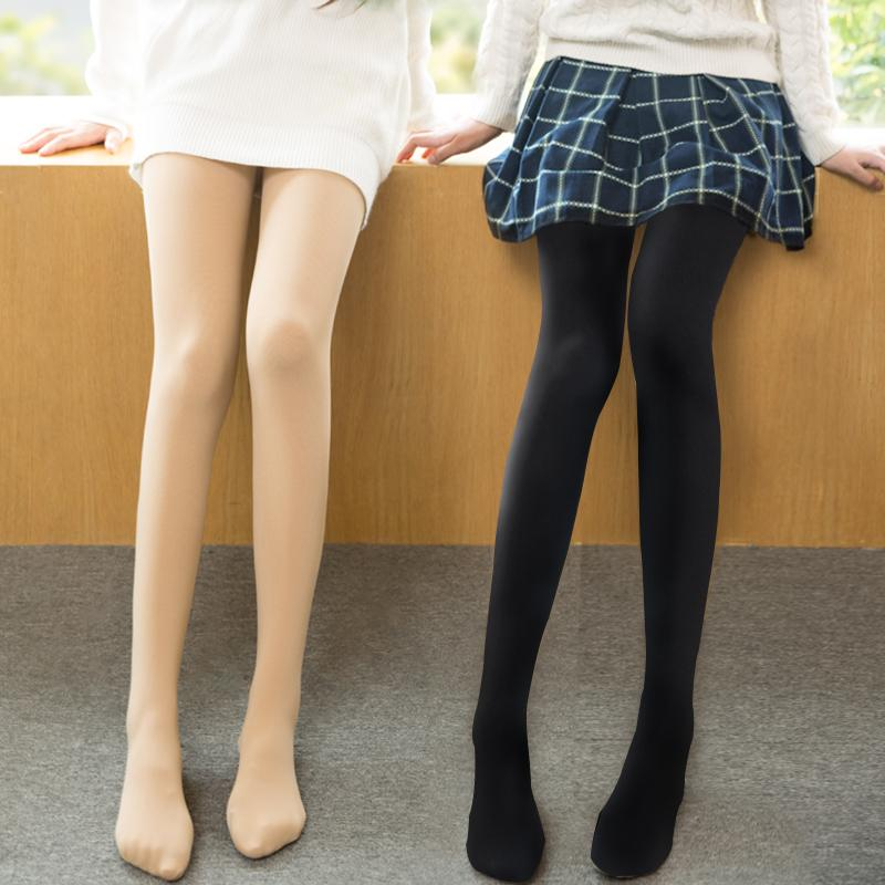 Pure Color Thick Velvet Tights SP140353