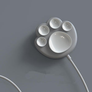 White/Grey/Pink Kawaii Cat Paw Wireless Charger SP14366