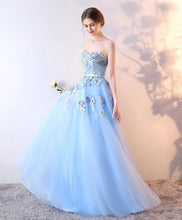 Load image into Gallery viewer, Stylish Tulle Lace Long Prom Dress, Lace Evening Dress