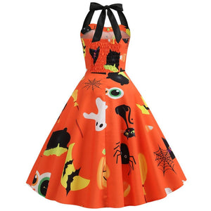 Sexy Halter Halloween Dress SP14236