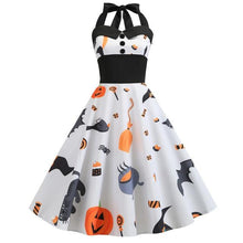 Load image into Gallery viewer, Sexy Halter Halloween Dress SP14236